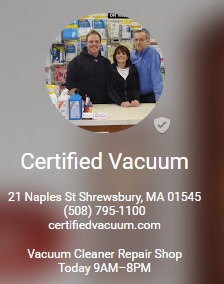 Certified Vacuum Google Plus